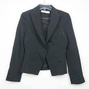 Zara Basic long sleeve black sport coat blazer